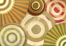 An abstract retro background Royalty Free Stock Photography