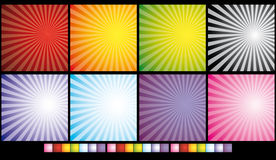 Abstract Retro background Stock Photo