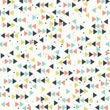 Abstract retro background with arrows. Stock Photography