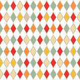 Abstract retro background with rhombus. Vector illustration Stock Image