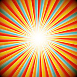 Abstract Retro background of star burst Royalty Free Stock Photography