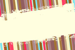 Abstract retro background with stripes Stock Photography