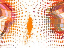 Abstract  retro background, vector Royalty Free Stock Photos