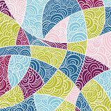 Abstract retro background in vector Stock Photography