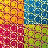 Abstract retro background. Vector illustration. Abstract background vector illustration depicting swirl pattern set Stock Image