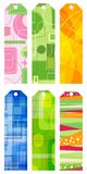 Abstract retro bookmarks Royalty Free Stock Photo