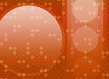 Abstract Retro Circle Background. A retro geometric abstract background Royalty Free Illustration