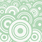 Abstract Retro Circle Flat Design Stock Photography