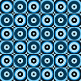 Abstract retro circles seamless pattern. Stock Photo