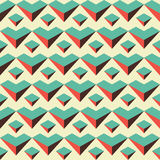 Abstract Retro Color Pattern Royalty Free Stock Image