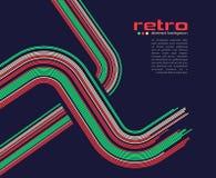 Abstract retro disco background - vector. vector illustration