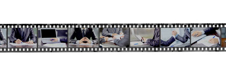 Abstract retro film strip Stock Image