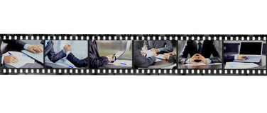 Abstract retro film strip Stock Images