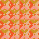 Abstract Retro Geometric Background Royalty Free Stock Images