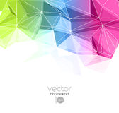 Abstract retro geometric background. Template brochure design Stock Images