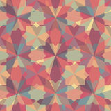 Abstract retro geometric pattern Royalty Free Stock Photos