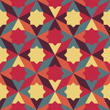 Abstract retro geometric pattern Stock Photography