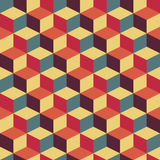Abstract retro geometric pattern Royalty Free Stock Image