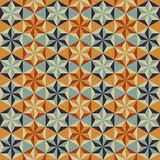Abstract retro geometric pattern Royalty Free Stock Images