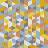 Abstract retro geometric pattern Stock Photos
