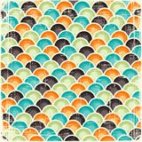 Abstract retro geometric scratched background Stock Images