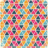 Abstract retro geometric scratched background Stock Photos