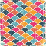 Abstract retro geometric scratched background Stock Photo