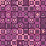 Abstract Retro Geometric seamless pattern. Vector illustration Vector Illustration