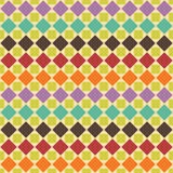 Abstract retro geometric seamless pattern. Vector illustration.  Stock Illustration