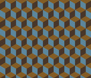 Abstract Retro Isometric Shape Background. For Business. Vector Stock Image