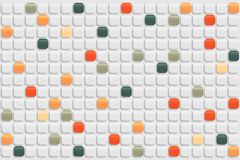 Abstract retro mosaic background Royalty Free Stock Photos