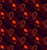 Abstract retro naadloos patroon in vector Eindeloze overladen achtergrond royalty-vrije illustratie
