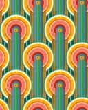 Abstract retro patroon Royalty-vrije Stock Afbeeldingen