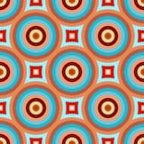 Abstract retro patroon vector illustratie