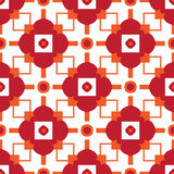 Abstract Retro Pattern Stock Images