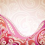 Abstract Retro Pink Background Royalty Free Stock Photos
