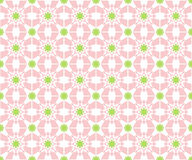 Abstract retro pink flowered pattern Stock Photos