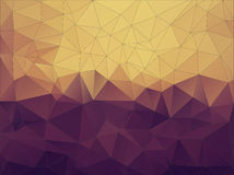 Abstract retro polygonal background. Stock Photo