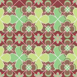 Abstract retro seamless pattern Stock Photography