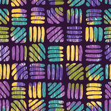 Abstract retro seamless pattern Royalty Free Stock Photos