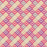Abstract retro seamless pattern. illustration Stock Images