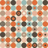 Abstract retro seamless pattern in vector Royalty Free Stock Photos