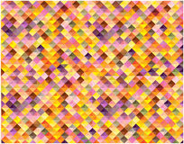 Abstract retro squares background. Color abstract mosaic tiles background Stock Photos