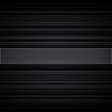 Abstract retro striped black and grey background Royalty Free Stock Images