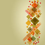 Abstract retro styled background Royalty Free Stock Photo