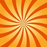 Abstract retro swirling radial pattern background vector illustration