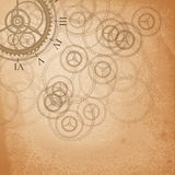 Abstract retro technology background. Royalty Free Stock Images