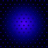 Abstract retro technology circles blue and black. Background Royalty Free Stock Images