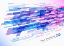 Abstract retro technology lines Royalty Free Stock Image