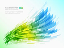 Abstract retro technology lines Royalty Free Stock Photo
